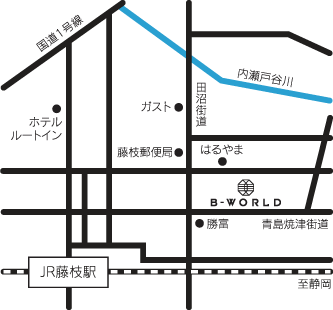 B-WORLD MAP